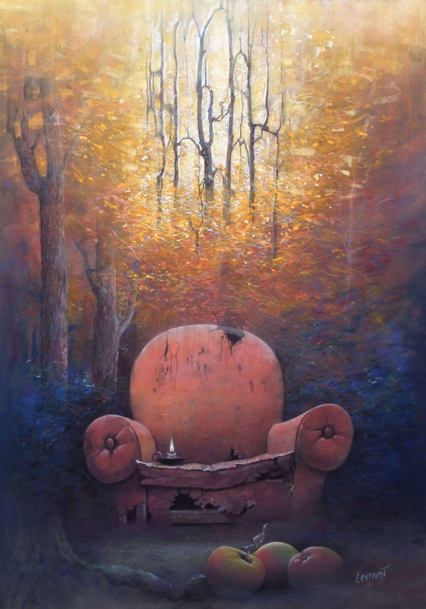 « Le passage » 50 x 70 cm