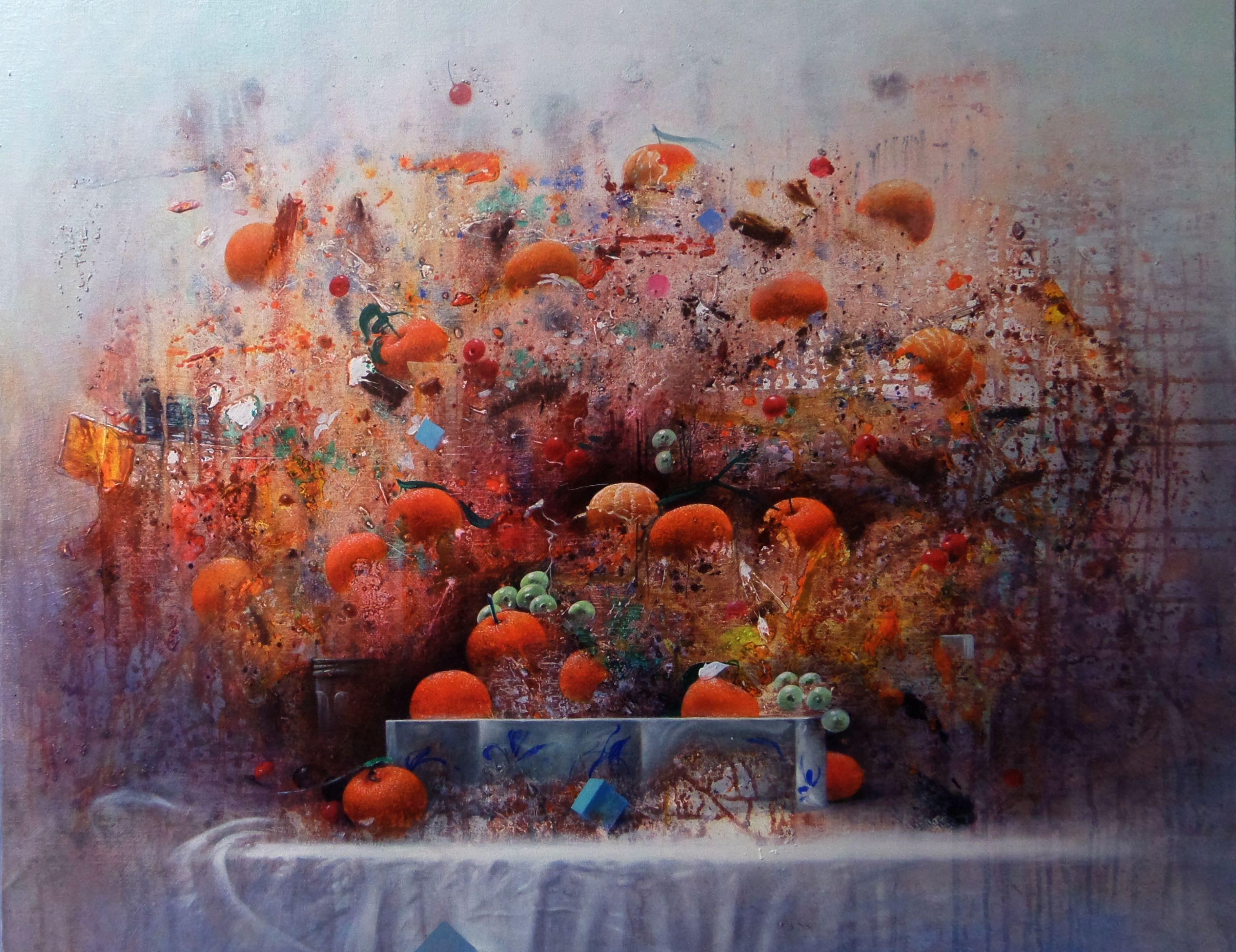 « La joie » 92 x 78 cm
